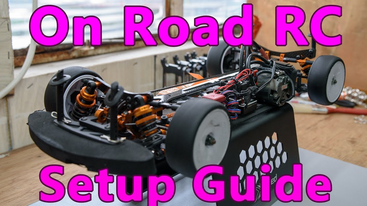 On road RC car setup guide - 1/10 touring