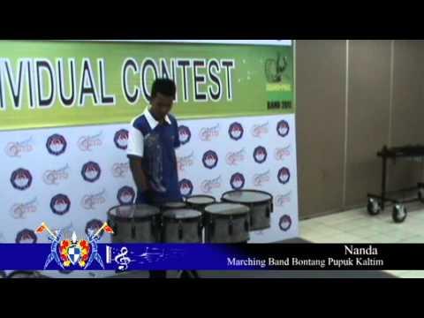 GPMB 2011 - MB Bontang Pupuk Kaltim Solo Percussion (Nanda)