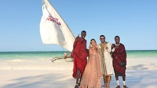 Ali and Sheliza Zanzibar Beach Bollywood Wedding
