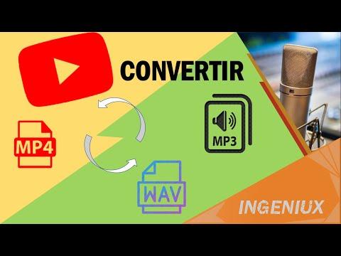 🎵 Como convertir videos de MP4 a MP3 | En Format Factory | Rapido y sencillo