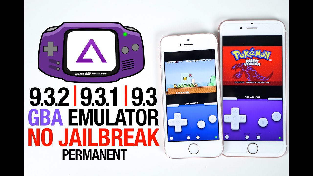 Install GBA Emulator On iOS 9 3, 9 3 1, 9 3 2 Without