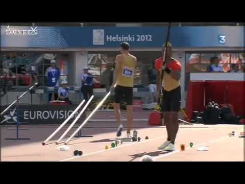Helsinki 2012 Pole Vault Final Full Contest