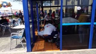 Noticia - Josefa desmaya en el Muelle Chico de Corralejo