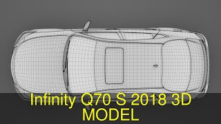 3D Model of Infinity Q70 S 2018 Review