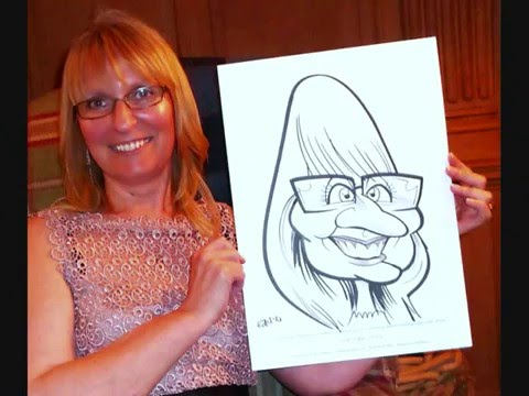 Live Event Caricatures By Edd Travers