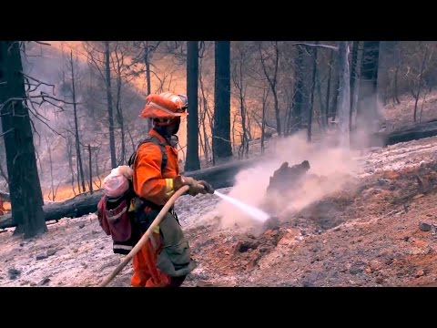 Inmates Battle California Wildfires