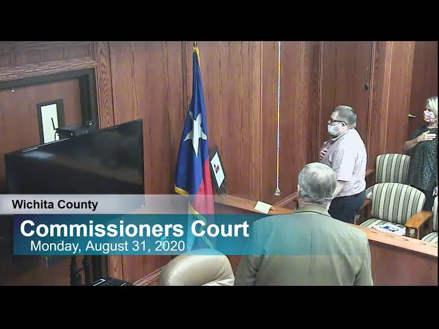 Commissioners Court 08/31/2020