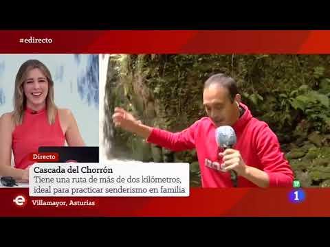VÍDEO El Chorrón de Piloña, en España Directo de TVE