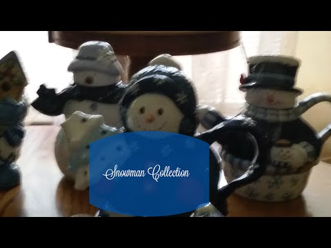 Blue Snowman Collection- Haul