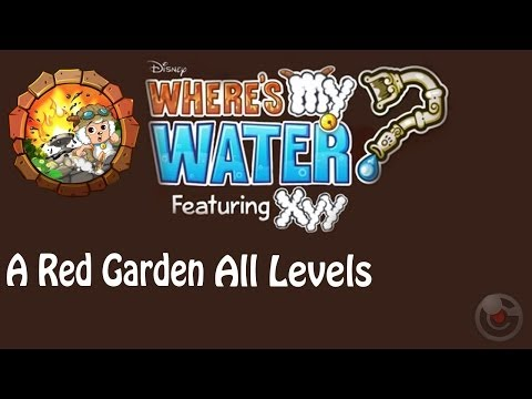Where's My Water? Featuring XYY(A Red Garden) Walkthrough All Levels