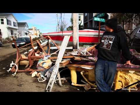 Lindenhurst Picks Up After Sandy