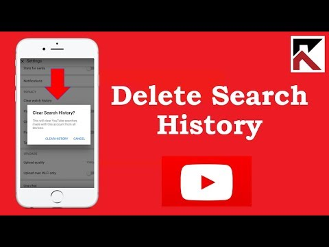 How To Delete Search History YouTube iPhone