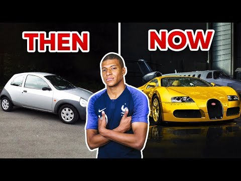 FAMOUS FOOTBALLERS CARS - BEFORE AND AFTER 2018!