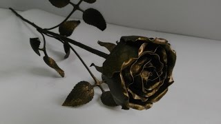 Кованая роза своими руками 1/2 (ковка)