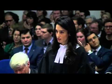 Amal Clooney's speech in ECHR hearing of Perinçek v. Switzer