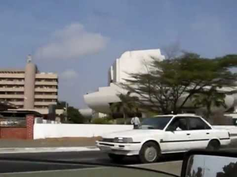 Accra Ghana   national theatre
