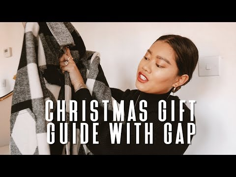 CHRISTMAS GIFT GUIDE WITH GAP | AD