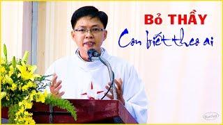 Bỏ Thầy Chúng con biết đến với ai - Bài giảng lễ mở tay Linh mục Giuse Nguyễn Hữu Phước