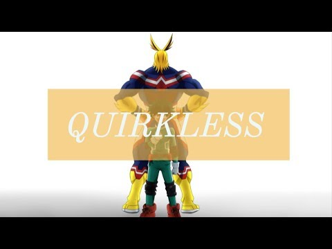 Boku No Hero Academia - All Might & Midoriya: Quirkless