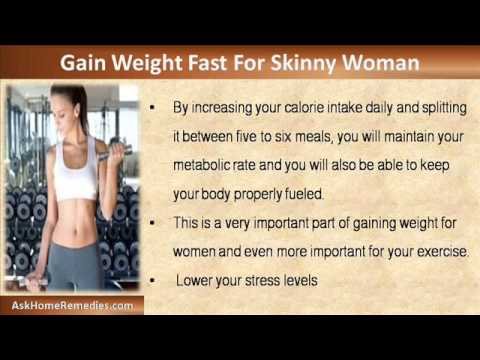 I am a skinny woman and i want to gain weight fast what should i i am a skinny woman and i want to gain weight fast what should i do youtube ccuart Images