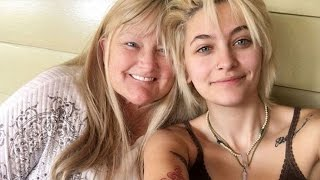 Paris Jackson All Smiles With Mom Debbie Rowe Following Chemotherapy Treatments