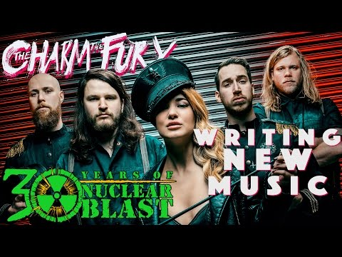 THE CHARM THE FURY - Writing New Music: The Sick, Dumb & Happy (OFFICIAL INTERVIEW)