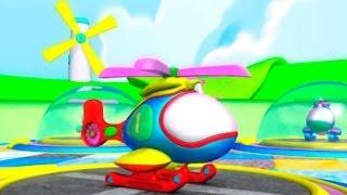 Мультфильм про Вертолёты - учимся считать до 7- развивающий мультик для детей(Развивающий мультик в 3Д для самых маленьких. Мы окажемся на вертолетной площадке, где вертолётики будут..., 2014-03-05T06:25:18.000Z)