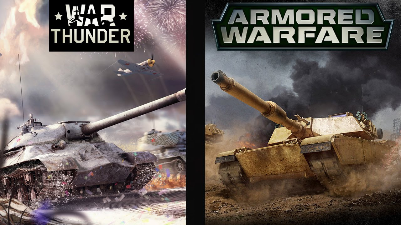 war thunder или armored warfare