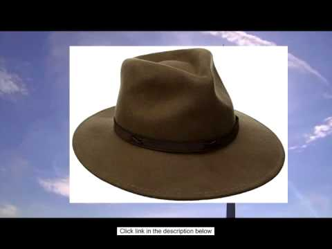 Pendleton Men s Indy Hat - YouTube c5d1535b4431