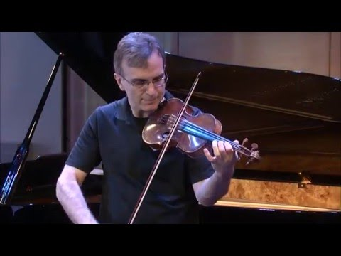 Gil & Orli Shaham: Bach, Violin Sonata No. 1 in A minor, BWV 1003: IV. Allegro