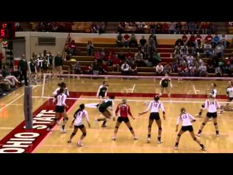 Michigan State At Ohio State - Volleyball Highlights