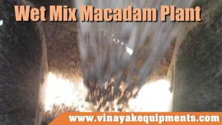 Wet Mix Macadam Plant, construction equipment
