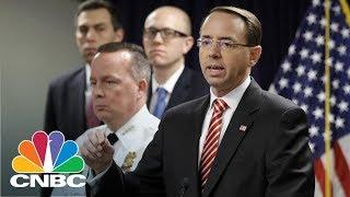 Deputy Attorney General Rod Rosenstein: False Social Media Accounts Were Created | CNBC