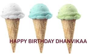 Dhanvikaa   Ice Cream & Helado