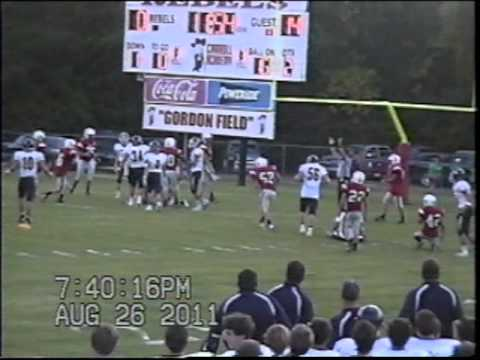 Washington School vs Carroll Academy 8-26-2011