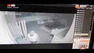 شاهد فيديو قتل سارق في بيت الفنانة  نانسي عجرم وسجن زوجها  فادي هاشم..😱😱
