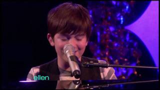 "Greyson Chance Performs ""Waiting Outside The Lines"" on Ellen"