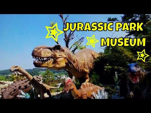 JURASSIC PARK MUSEUM IN SOUTH KOREA!| Museo Jurásico en Corea del Sur!| 안면도쥬라기공원