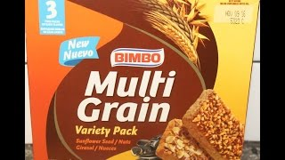 Bimbo Multi Grain Variety Pack: Sunflower Seed & Nuts Review
