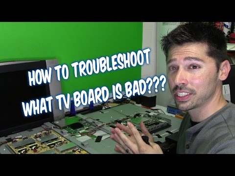 LED LCD TV REPAIR GUIDE- NO POWER OR NO BACKLIGHT ON VIZIO SCREEN