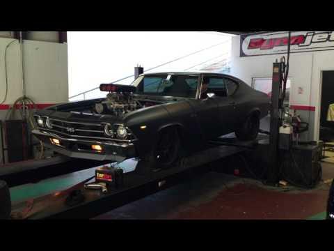 Blown 1969 Chevelle Dyno Pull