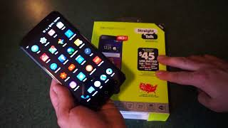 ZTE Max Blue 4G LTE new Straight Talk Smartphone...basic hands on review and overview!