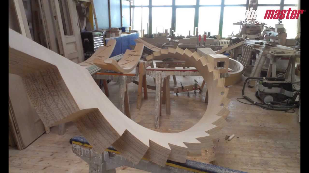 Milling of Circular Staircase Stringers | Doovi
