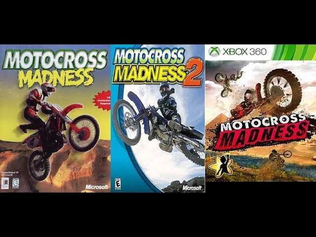 The evolution of Motocross Madness (1998-2013)