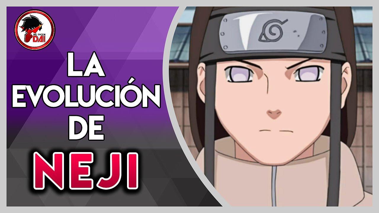 Naruto: Historia y Evolución de NEJI HYUGA