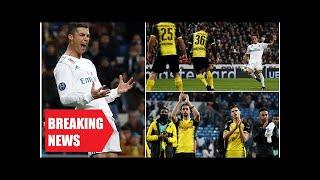 Breaking News - Real madrid 3-2 borussia dortmund: cristiano ronaldo breaks record
