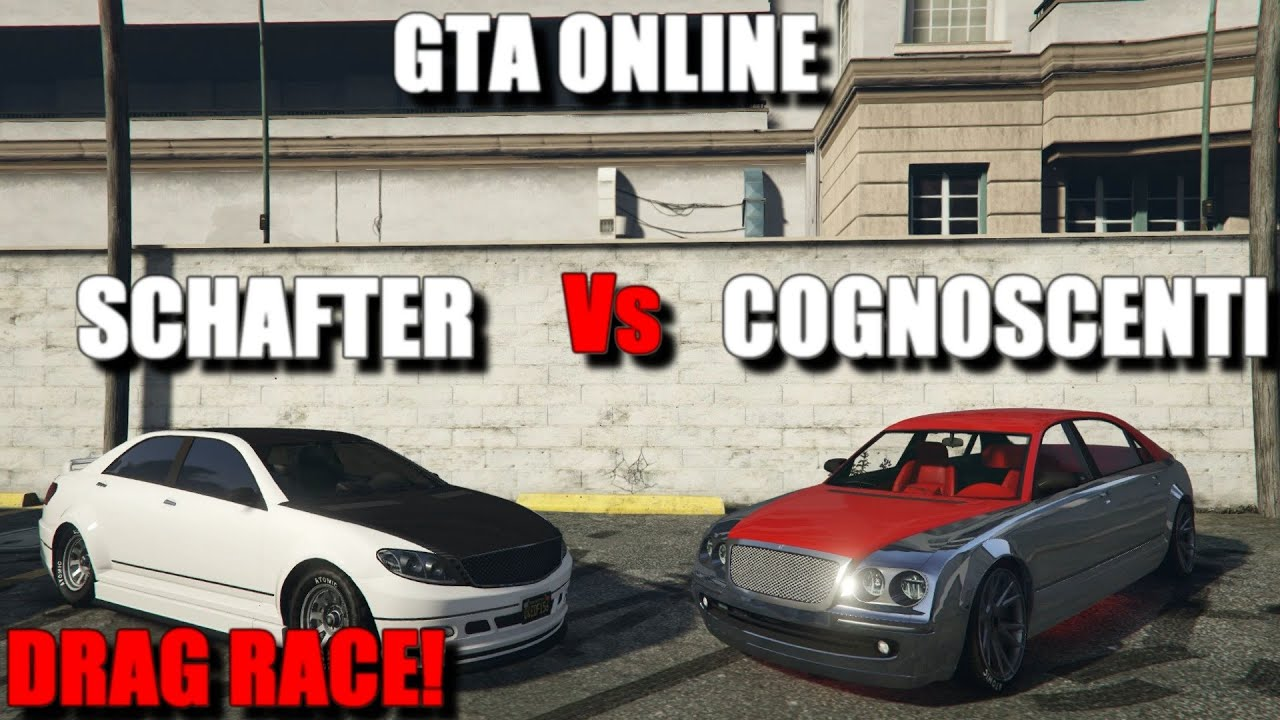 Gta Online Cognoscenti Vs Schafter Fastest Sedan Cognoscenti