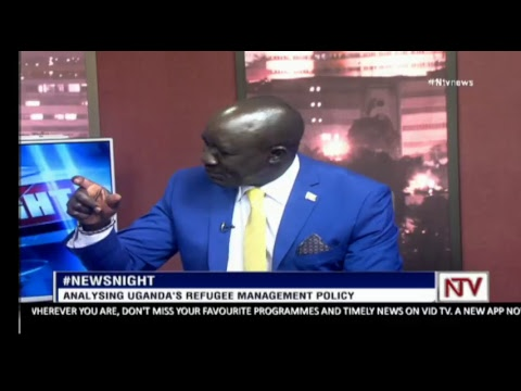 NEWS NIGHT:  Minister Musa Echweru explains allegations of corruption by refugee Aid handlers