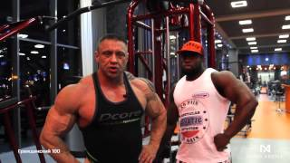 Гости Nova Arena Fitness: Дмитрий Крылов и Serdio Faria