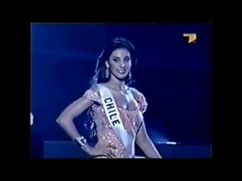 Gabriela Barros en competencia preliminar Miss Universo